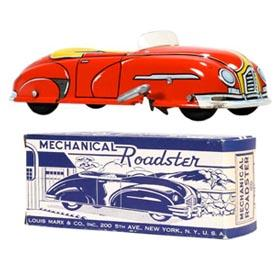 c.1948 Marx, Mechanical Roadster in Original Box