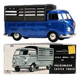 c.1964 Bandai, Volkswagen Bus Cattle Truck in Original Box