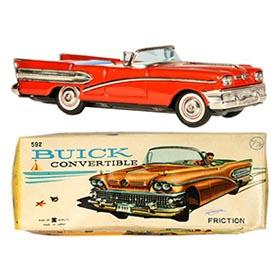 1958 Bandai, Buick Century Convertible in Original Box
