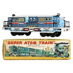c.1958 Asahi, Super Atom Train in Original Box