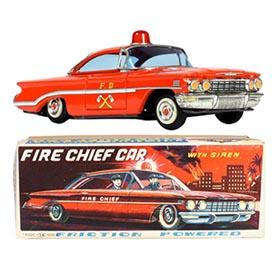 1960 Nomura, Oldsmobile Fire Chief Car in Original Box