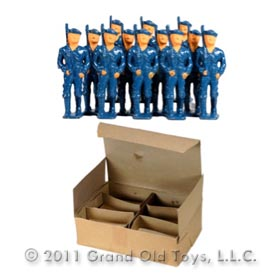 1940 Grey Iron, One Dozen (12) U. S. Sailors In Original Box