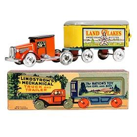 1936 Lindstom, Mechanical Land O'Lakes Truck in Original Box