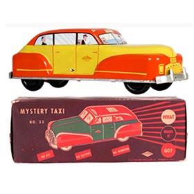 c.1946 Wolverine, No.33 Mystery Taxi in Original Box