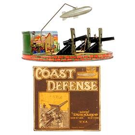 1930 Marx, Coast Defense in Original Box
