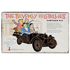 1963 Colorforms, Beverly Hillbillies Kit in Original Box (Autographed)