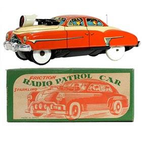 1952 Japan, Radio Patrol Car (Pontiac) in Original Box