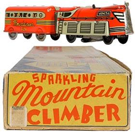 c.1947 Marx, Sparkling Mountain Climber in Original Box