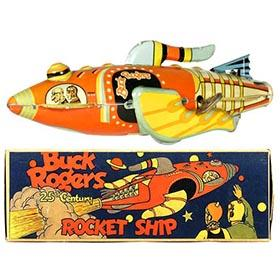 1934 Marx, Buck Rogers 25th Century Rocket Ship in Original Box