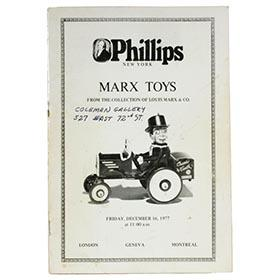 1977 Louis Marx & Co., Phillips Auction Catalog of Factory Toys