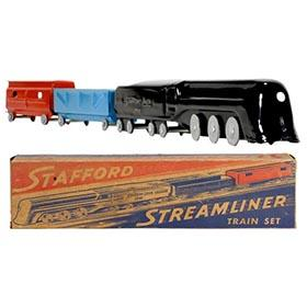 c.1935 Stafford, Streamliner Train Set in Original Box