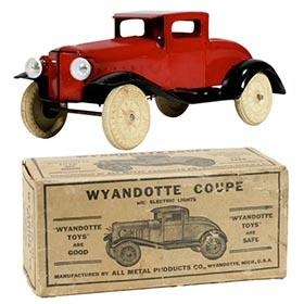 1933 Wyandotte, Coupe with Electric Lights in Orignal Box