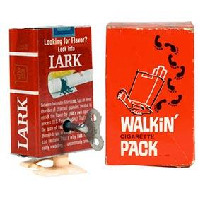 1966 Poynter, Walkin' Lark Cigarette Pack in Original Box