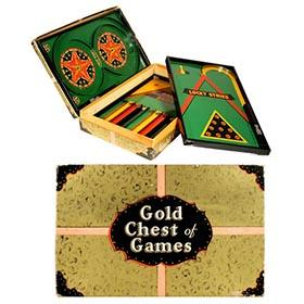 1933 Lindstrom, Gold Chest of Games in Original Box