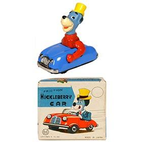 1962 Marx, Huckleberry Hound Car in Original Box