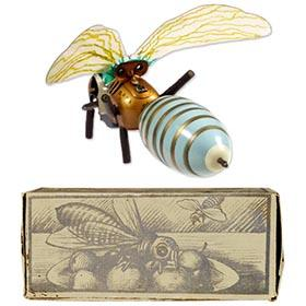 c.1924 GAMA, Clockwork Honey Bee in Original Box
