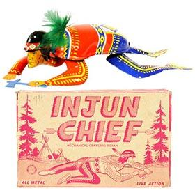 1953 Ohio Art, Injun Chief