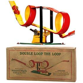 1924 McDowell Mfg., Double Loop The Loop in Original Box