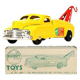 1954 Buddy L, No.3317 Emergency Auto Wrecker in Original Box