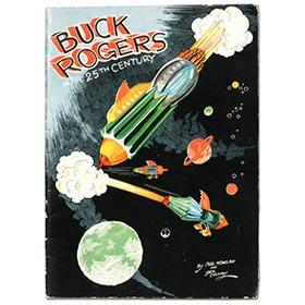 1933 Buck Rogers in the 25th Century Kellogg's Booklet