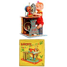 1953 Marusan, Lucky Baby Machine in Original Box