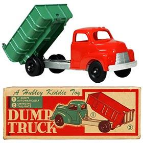 c.1952 Hubley, No.510 Kiddie Dump Truck in Original Box