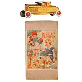 c.1933 Meier, Tin Penny Chauffeured Coupe in Original Box