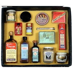 c.1935 Blair Labs, Unused Salesman Samples in Original Case