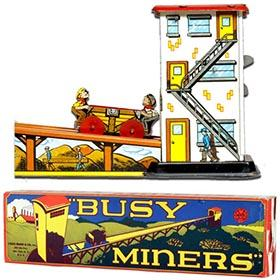 c.1949 Marx, Busy Miners in Original Box