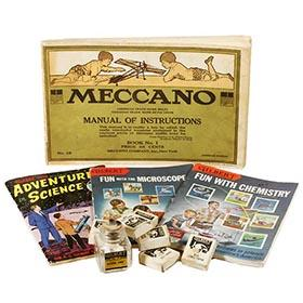 1916 Meccano & Gilbert: Antique Catalogs & Toy Parts