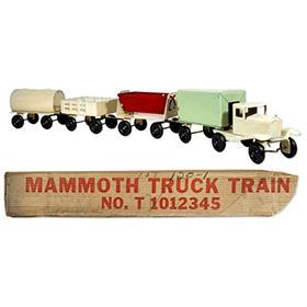 1928 Girard, 8pc. Mammoth Truck Train in Original Box