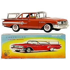 1960 Asahi, Chevrolet Bel Air Station Wagon in Original Box
