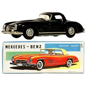 c.1957 Shioji (SSS), Mercedes Benz 300SL Roadster in Original Box