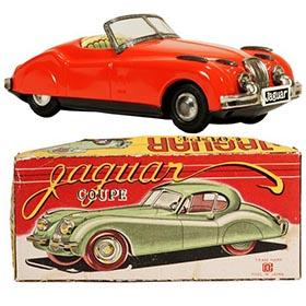 c.1954 Bandai, Jaguar XK140 Convertible in Original Box