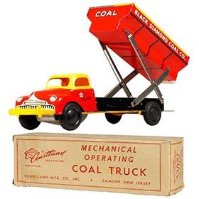 c.1949 Courtland, Mechanical Coal Truck in Original Box