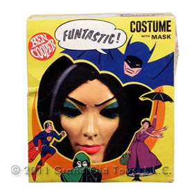 1964 Ben Cooper, Lily Munster Halloween Costume In Box