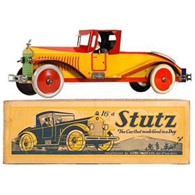 1928 Marx, Stutz Roadster in Original Box