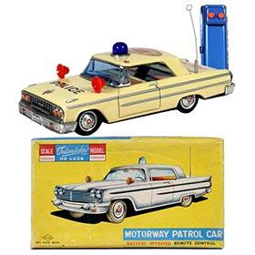 1963 Aoshin Ford Fairlane Police Car in Original Box