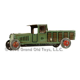 c.1925 Kellerman Tin Penny Stake Bed Truck