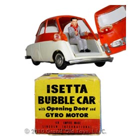 c.1958 Lincoln BMW Isetta Bubble Car In Original Box