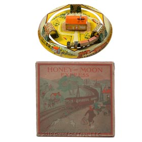 1926 Marx Honey Moon Express In Original Box