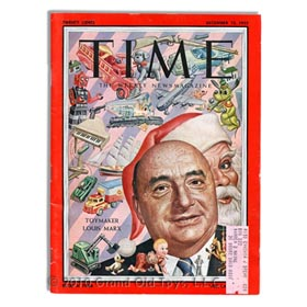 1955 Time Magazine Louis Marx