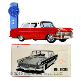 1960 Bandai Opel Rekord Sedan In Original Box