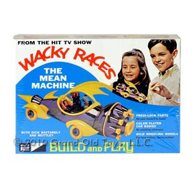 1969 Wacky Races The Mean Machine In Factory Sealed Box