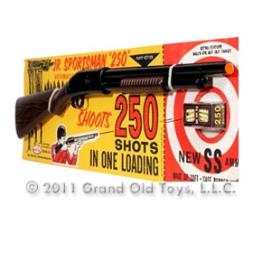 c.1965 Jr. Sportsman 250 Pump Shot Gun On Original Card