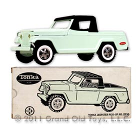 c.1968 Tonka No. 2230 Jeepster Pick Up In Original Box