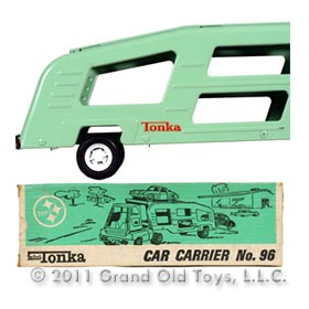 1974 Mini-Tonka No. 96 Car Carrier In Original Box