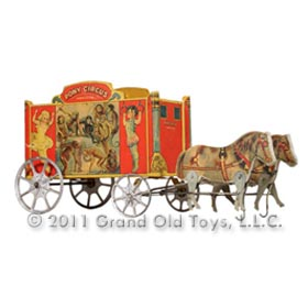 1912 Gibbs Mfg. Co., No. 53 Pony Circus Wagon