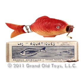 c.1935 Les Aquatiques Poisson Fish In Original Box
