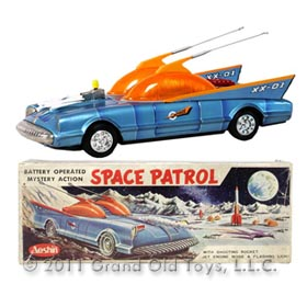 c.1958 Aoshin Space Patrol XX-01 In Original Box